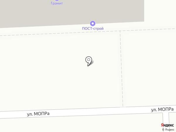Гранит на карте Кирова