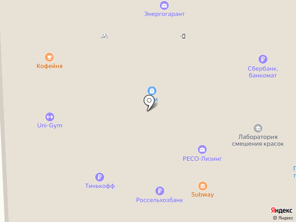 М-хенд на карте Кирова