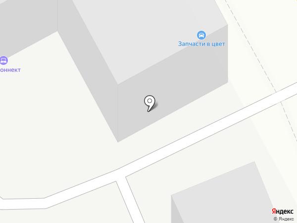 Черный мотоцикл на карте Кирова