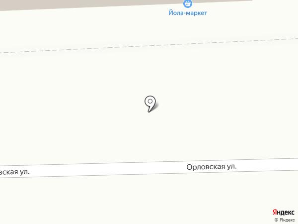 Магазин кондитерских изделий, овощей и фруктов на карте Кирова