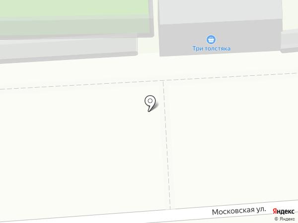 Три толстяка на карте Кирова