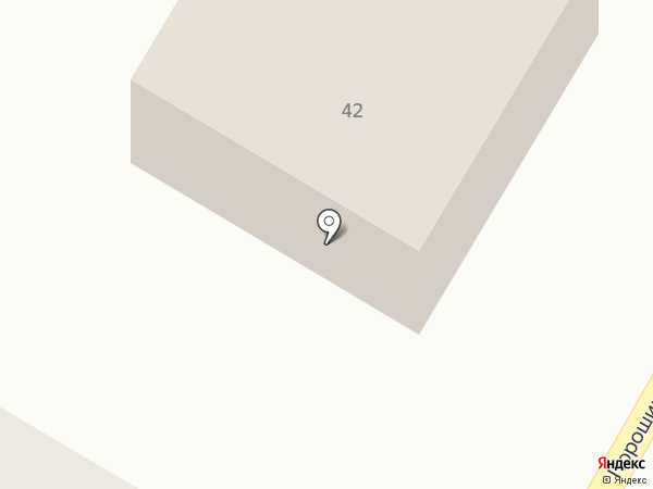 Мясной дворик на карте Порошино