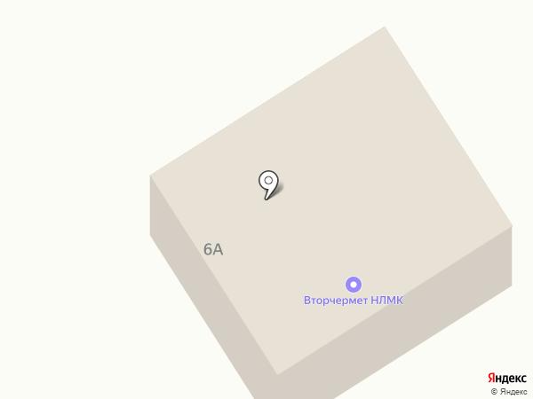 Вторчермет НЛМК Поволжье на карте Новокуйбышевска