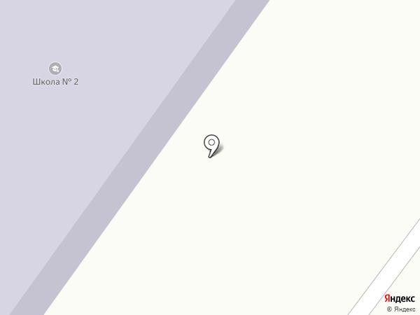 Основная общеобразовательная школа №2 городского округа Жигулёвск на карте Солнечной Поляны