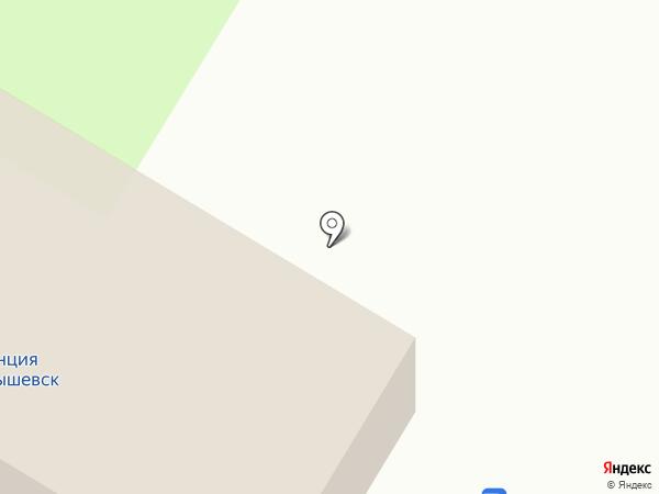 Пригородная автостанция на карте Новокуйбышевска