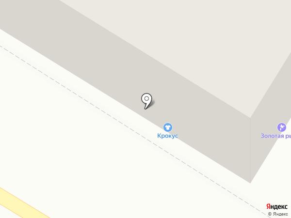 Крокус на карте Новокуйбышевска