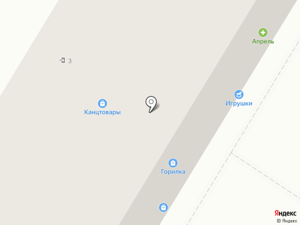 Доброяр на карте Новокуйбышевска