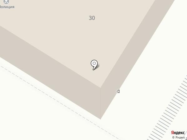 Отдел МВД России по г. Новокуйбышевску на карте Новокуйбышевска