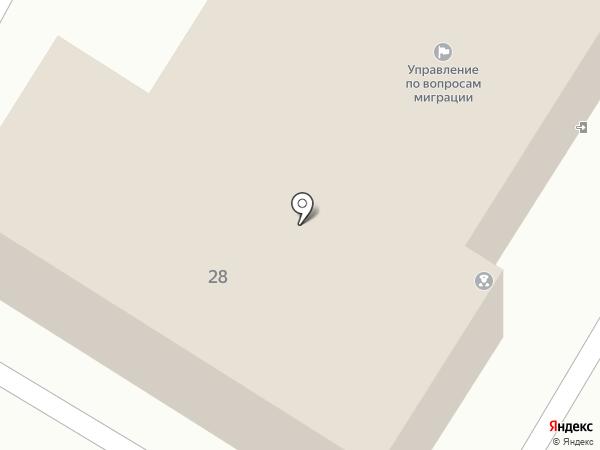 УФМС на карте Новокуйбышевска