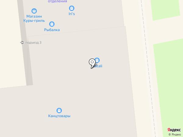 Магазин по продаже печатной продукции на карте Новокуйбышевска
