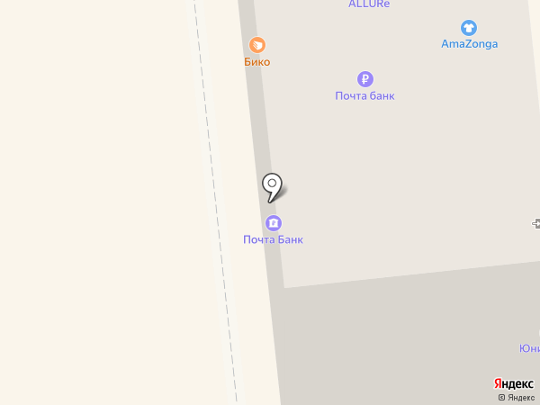 Почта Банк, ПАО на карте Новокуйбышевска