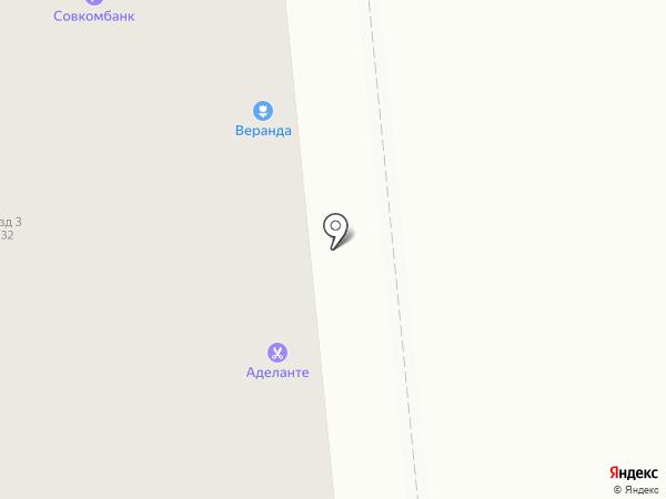 Самарский букет на карте Новокуйбышевска