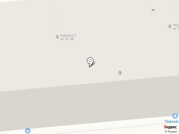 Чешский дом на карте Новокуйбышевска
