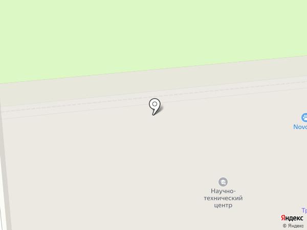 Спутник на карте Новокуйбышевска