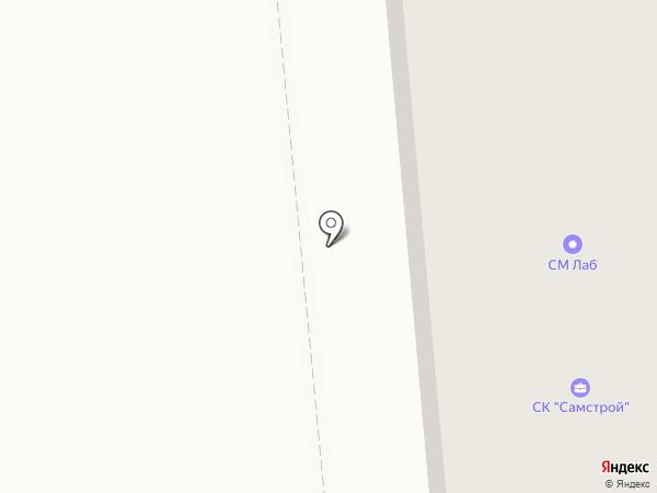 Мирт на карте Новокуйбышевска