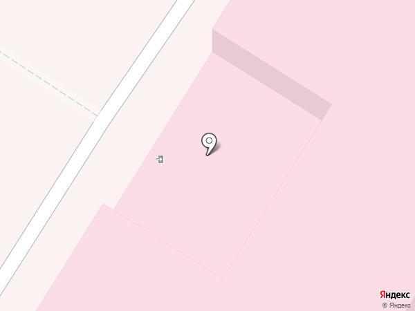 Детская поликлиника №2 на карте Новокуйбышевска