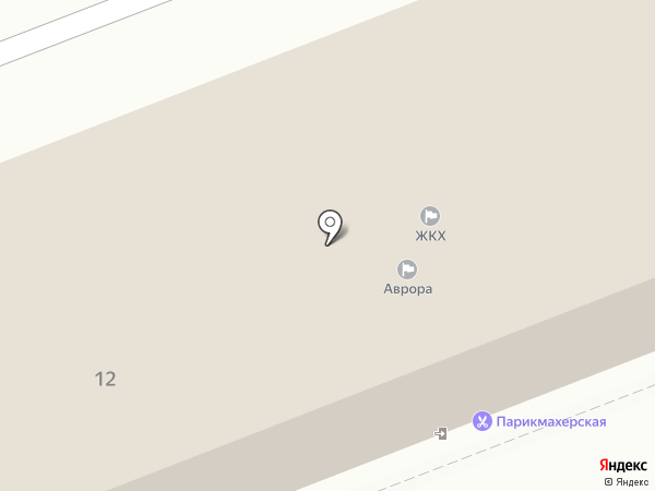 Авангард на карте Новокуйбышевска