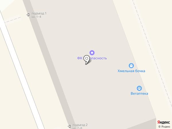 Жигули на карте Новокуйбышевска
