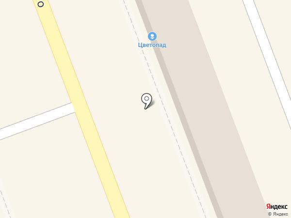 Цветочный магазин на карте Новокуйбышевска