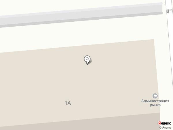 Гинес на карте Новокуйбышевска