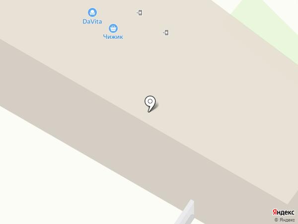 Аскона на карте Новокуйбышевска