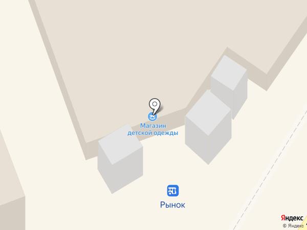 Детская ярмарка на карте Новокуйбышевска