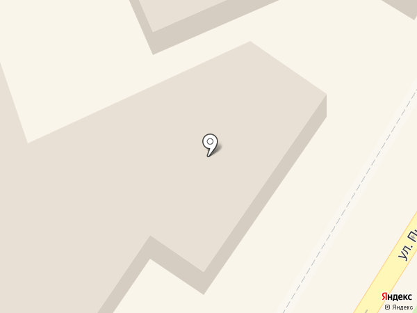 Фриз на карте Новокуйбышевска