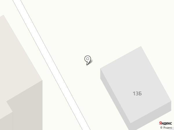 Шиномонтажная мастерская на карте Новокуйбышевска