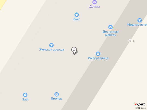 Платежный терминал на карте Новокуйбышевска