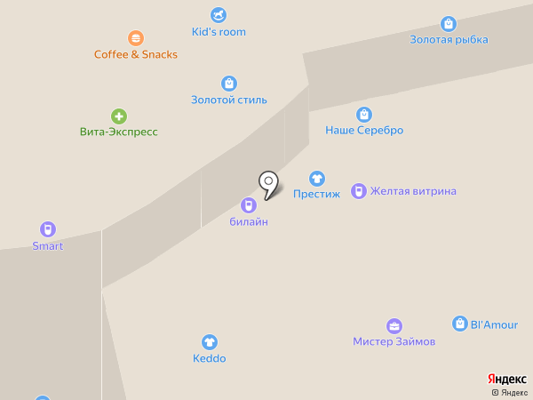 DELTA-CAR на карте Новокуйбышевска