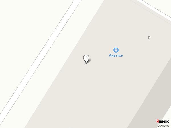 Акватон на карте Новокуйбышевска