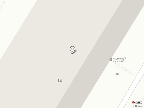 На аллее на карте Новокуйбышевска