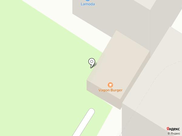 Гараж на карте Новокуйбышевска