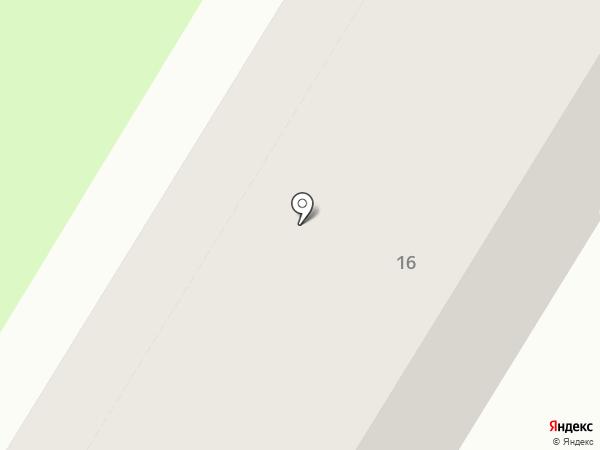 Уголовно-исполнительная инспекция на карте Новокуйбышевска