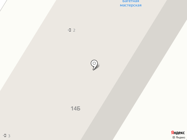Багетная мастерская на карте Новокуйбышевска