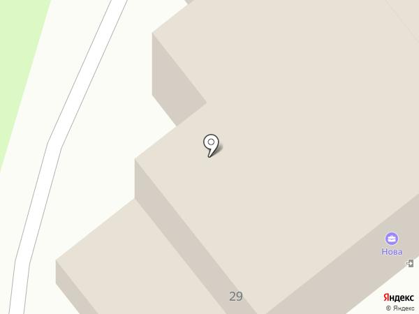 Подиум Д`арт на карте Новокуйбышевска