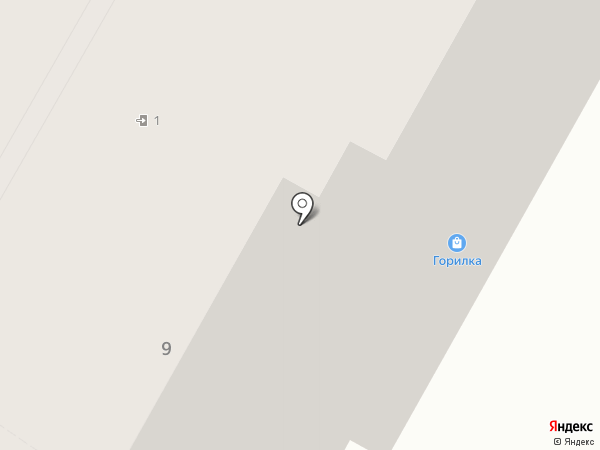Styling на карте Новокуйбышевска
