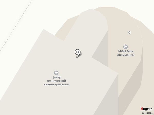 Центр технической инвентаризации, ГУП на карте Новокуйбышевска