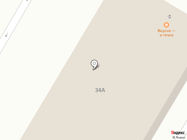 McDonald`s на карте Новокуйбышевска
