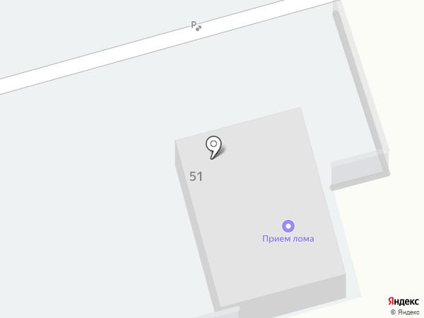 Фаворит-1 на карте Новокуйбышевска