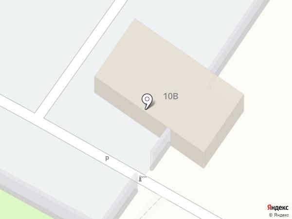 Автостоянка на карте Новокуйбышевска