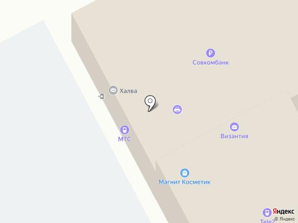 МТС на карте Курумоча