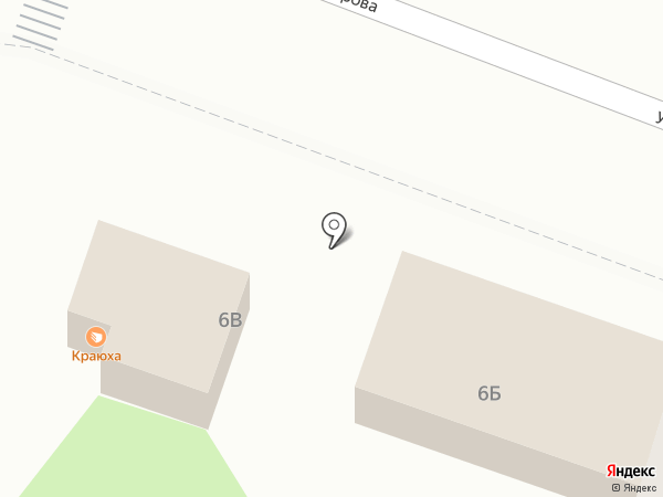 Киоск по продаже мяса на карте Самары