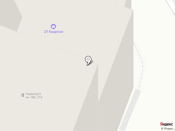 21 квартал на карте Самары