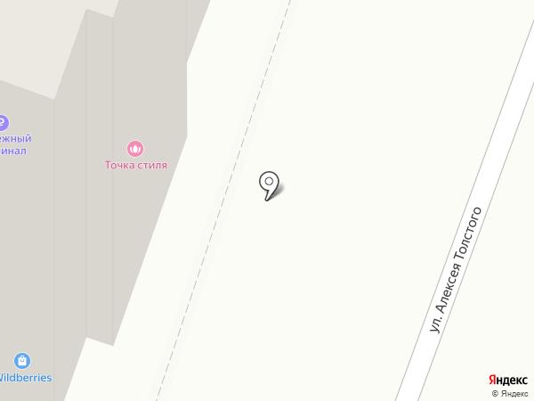 Пространство на карте Самары