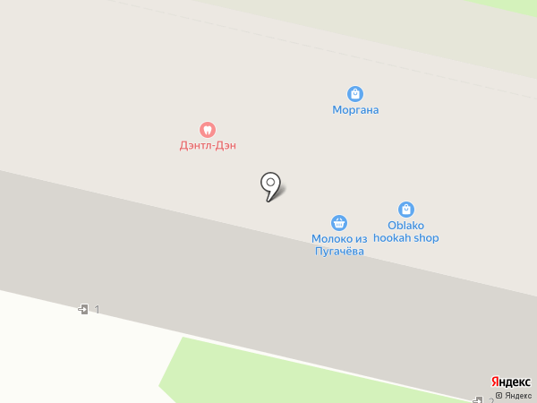 Парикмахерская на карте Самары