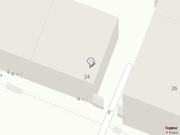 Транспортная компания на карте Самары