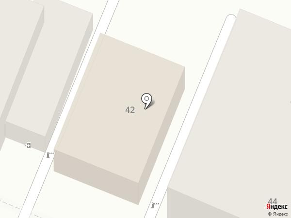 Магазин товаров для творчества на карте Самары