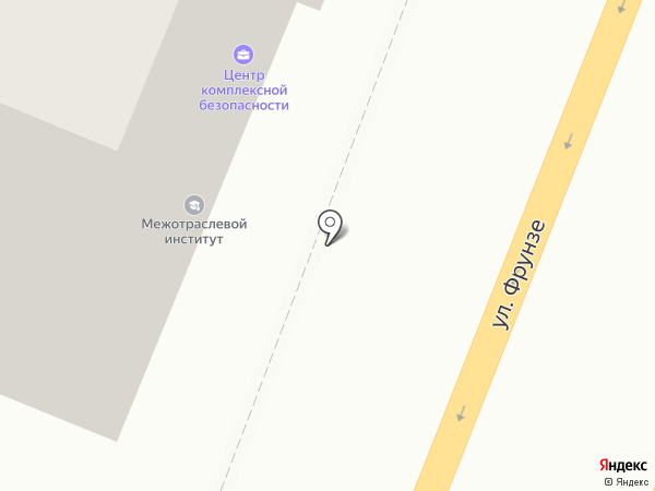 Центр комплексной безопасности на карте Самары