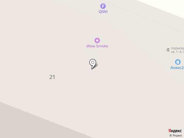 Ктиторъ на карте Самары